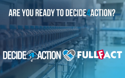 Exclusive Cooperation Agreement between DECIDE4ACTION and FullFact Solutions