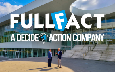 FullFact becomes a DECIDE4ACTION company
